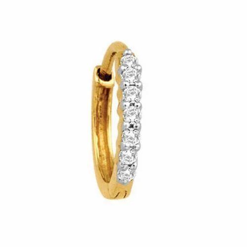 Round Diamond Nose Ring Diamond Nose Ring Omav Delhi