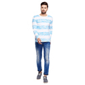 Men Cotton Striped T-Shirt