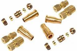 Brass Compresion Fittings