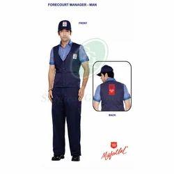 Men Poly cotton HP Petrol Pump Uniform