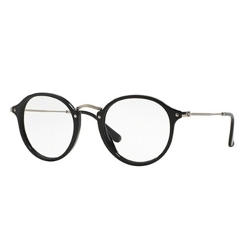 aa857058ac821 Female Round Fleck Clear Lens Ray-Ban Eyeglasses