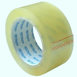25 - 30 Meter PVC Self Adhesive Packaging Tape, Thickness: 2 mm