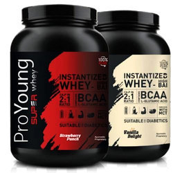Lean Muscle Mass Improve And Develop Your Muscles Proyoung Super Whey, Packaging Type: Plastic Container