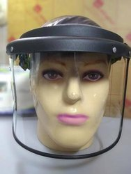 Non-Disposable Face Shield Good Quality With Openable Window