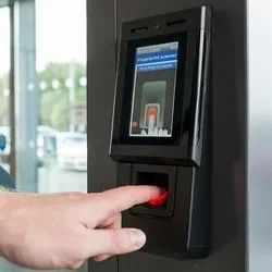 Touch Screen Biometric Attendance And Door Access Control System