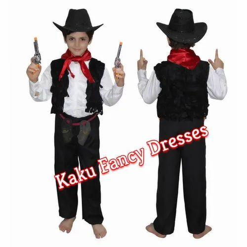 979e2e79b96b Kids Fancy Dress Costume - Kids Cow Boy Fancy Dress Costume ...