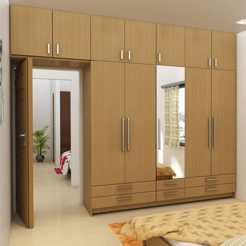 Hinged Door Bedroom Wardrobe Designer Taaj Kitchen Solutions ID Interesting Bedroom Wardrobe Design