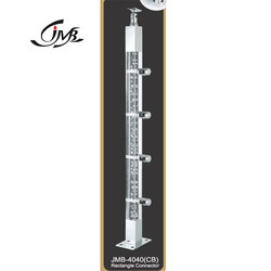 40 Mm Square Acrylic Baluster