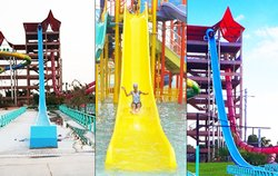 Free Fall Water Slide
