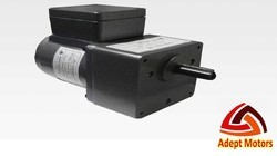 Adept motors Single Phase 12 Watt Induction Gear Motor, Voltage: 230 V, IP Rating: IP55