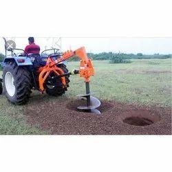 Multi Functional Pole Digging Machine