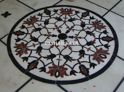 Beautiful Marble Inlaid Flooring