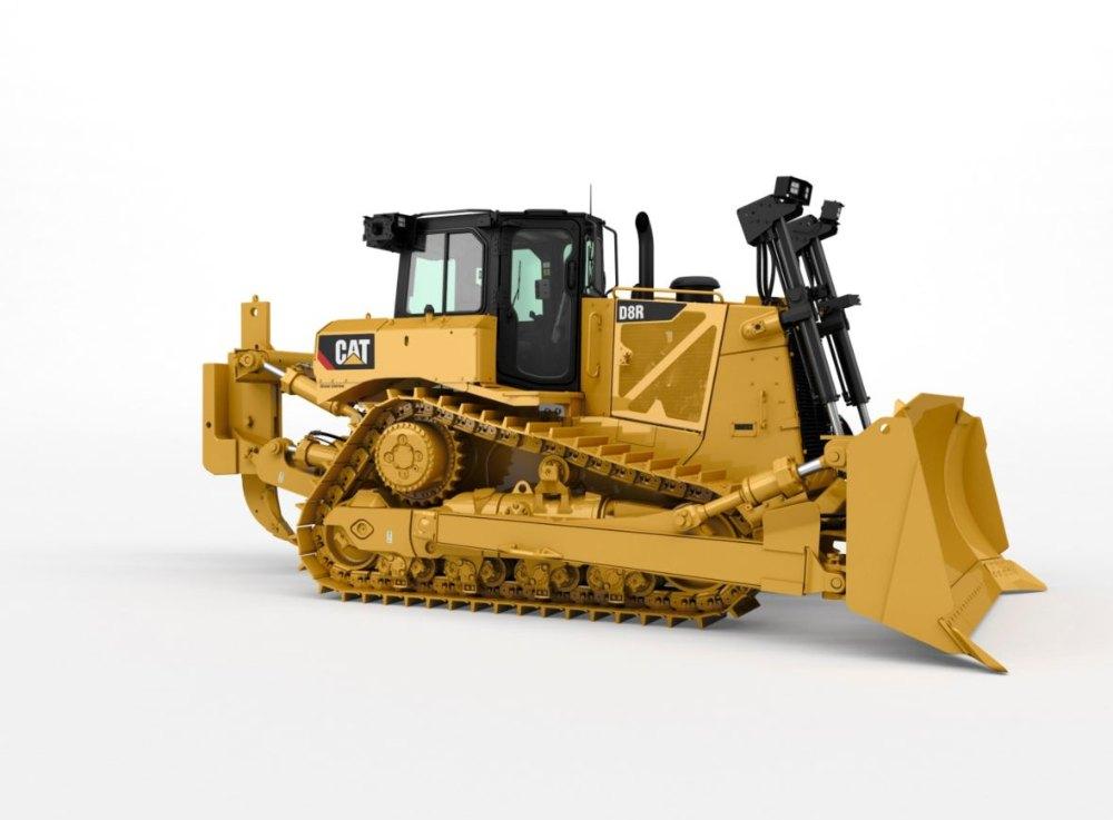 CAT D8R Track-Type Bulldozer, 320 hp