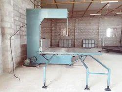 Vertical Foam Cutting Machine