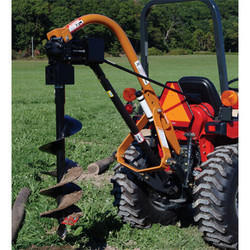 Tractor Mounted Rock Auger