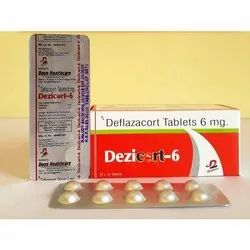 Dezicort 6 mg Tablets (Deflazacort 6 mg), Packaging Type: Strips