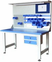 Industrial Work Station, Size: 1500mm X 750mm X1700mm