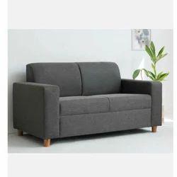 Cool 2 Seater Grey Fabric Sofa Machost Co Dining Chair Design Ideas Machostcouk