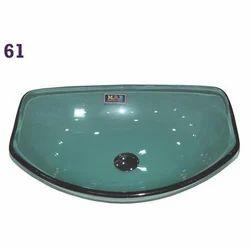 Cut Boat Glass Wash Basin
