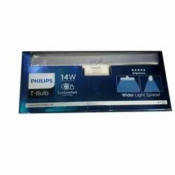 T-Shaped Crystal White Philips 14W LED T Bulb