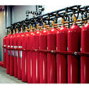 Infiniti Cylinder Gas Based Fire Suppression System