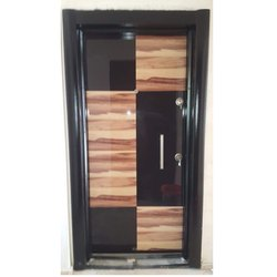 Stylish Flush Wooden Door