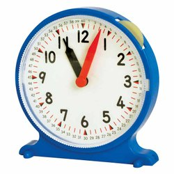 Geared Student Clock - Educational Toy