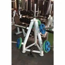 Gym Plate Rack