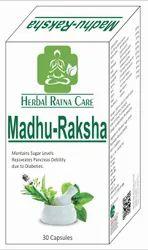 MADHU RAKSHA DIEBETIC CAPSULE