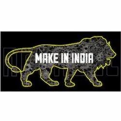 160013 Make in India Labels & Stickers