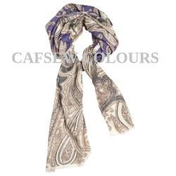 Trendy Printed Wool Scarves