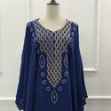 Royal Blue Muslim Kaftan