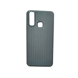 PU Black Redmi Plastic Mobile Cover