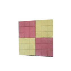 Cement Interlocking Floor Tile, Thickness: 10 - 12 mm