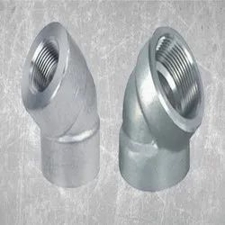 Alloy Steel 45 Deg Threaded Elbow