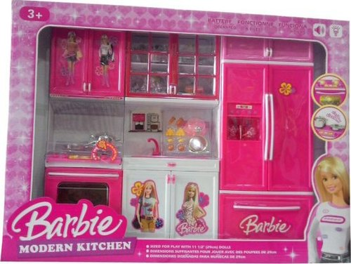 Pink Barbie Modern Kitchen Set Rs 630