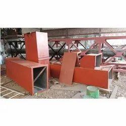 Belt Conveyor MS Bucket Elevator, Capacity: 1-50 ton per hour