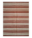 Stripe Jute Rugs with Pom Pom