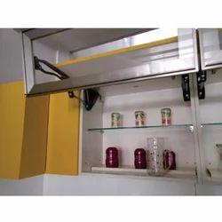 Kiosk Silver Kitchen Cabinet Rs 6890 Piece Kalpavruksha Trading Company Id 20325651055