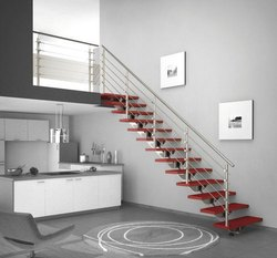 2 - 2.5 Feet Steel Staircase