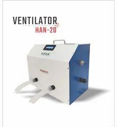 PRASADITI HAN-20 ventilator, Tidal Volume: 100 To 600