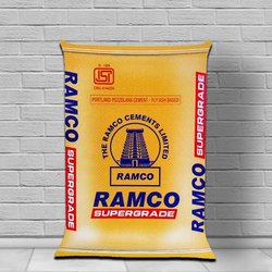 PPC (Pozzolana Portland Cement) Ramco Supergrade Cement, Packaging Size: 50 Kgs, Cement Grade: General High Grade