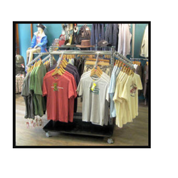 Garment Display Hanging Rack