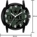 ARMY Leather Belt Fancy Men Watch-Army Watch