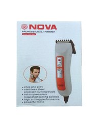 Nova NHC 3663 ORG Plug and Play Cordless Trimmer for Men