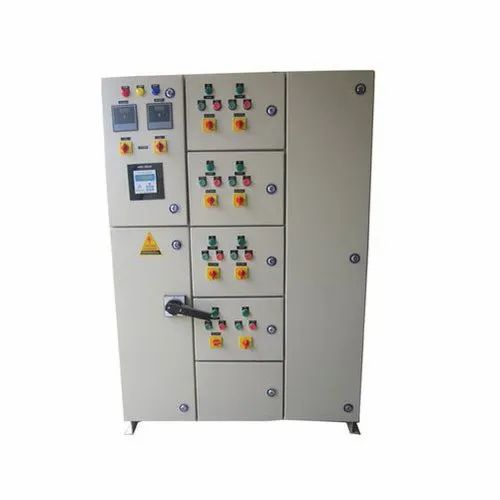 Semi Automatic Mild Steel Automatic Power Factor Control Panel