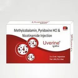 Methylcobalamin, Pyridoxine HCL and Nicotinamide Injection