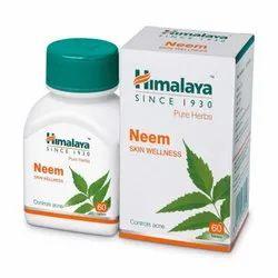 Himalaya Neem Skin Wellness Tablet For Personal, Treatment: Controls Acne