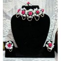 Artificial Floral Jewellery-006