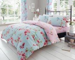 Bombay Dyeing Floral Printed King Size Bed Sheets